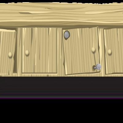 Kast maken van steigerhout
