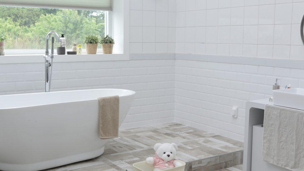 Vrijstaande baden hebben een prachtige uitstraling