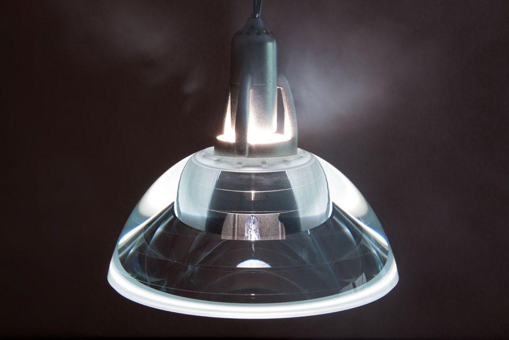 hanglamp in de woonkamer