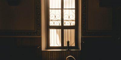 moderne raamdecoratie